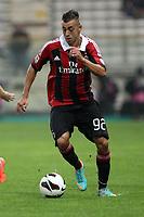 """Stephan El Shaarawy<br /> Parma 29/09/2012 Stadio """"Tardini""""<br /> Football Calcio Serie A 2012/13<br /> Parma v Milan<br /> Foto Insidefoto Paolo Nucci"""