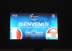 November 21, 2018 - France - Finale Coupe Davis 2018  (Credit Image: © Panoramic via ZUMA Press)
