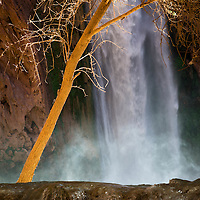 The all mighty Mooney Falls in Havasupai Canyon.