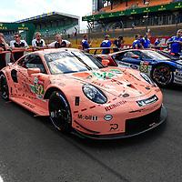 #92, Porsche Motorsport, Porsche 911 RSR, LMGTE Pro, driven by: Michael Christensen, Kevin Estre, Laurens Vanthoor, 24 Heures Du Mans  2018,  Test, 02/06/2018,