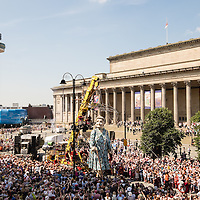 Giants in Liverpool 2014 - Friday
