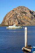 Morro Rock in Morro Bay California