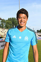 Hiroki Sakai during the friendly match between Olympique de Marseille and Fenerbahce on July 15, 2017 in Lausanne, Switzerland. (Photo by Philippe Le Brech/Icon Sport)
