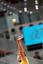 06.05.2014, Caja Magica, Madrid, ESP, ATP Tour, Madrid Open, im Bild Stanislas Wawrinka // Stanislas Wawrinka during the Madrid Open of ATP World Tour at the Caja Magica in Madrid, Spain on 2014/05/06. EXPA Pictures © 2014, PhotoCredit: EXPA/ Alterphotos/ Acero<br /> <br /> *****ATTENTION - OUT of ESP, SUI*****