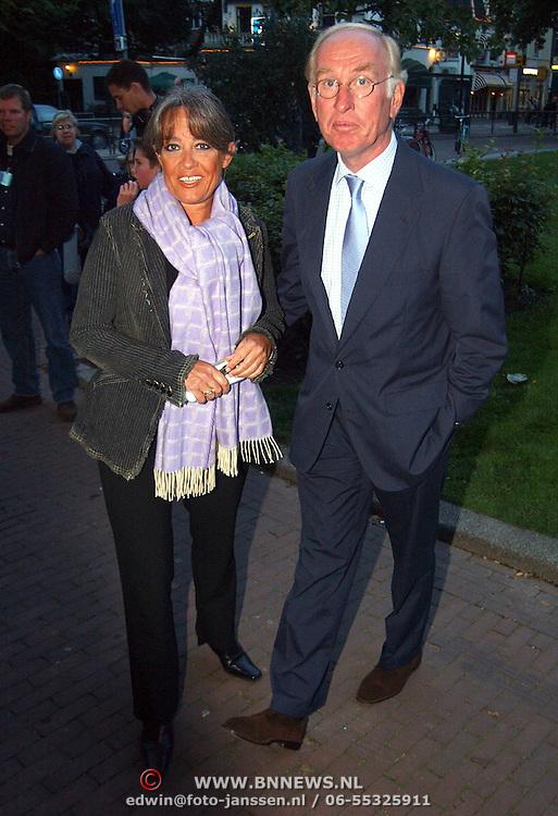 Premiere Ramses, Fred Oster met partner Jennifer