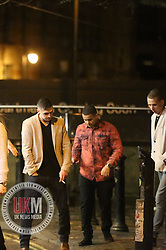 Manchester UK  24.12.2016: Images from Manchesters Gay Village during the Mad Friday celebrations this on the 23 and 24th of December,<br /> <br /> A man appears unsteady on his feet