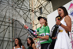 Annemiek van Vleuten (NED) wins the climber's competition during Stage 10 of 2019 Giro Rosa Iccrea, a 120 km road race from San Vito al Tagliamento to Udine, Italy on July 14, 2019. Photo by Sean Robinson/velofocus.com