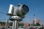 St. Basil's Cathedral (r.), Kremlin. Ad for Panasonic Lumix digital cameras...A river cruise from Moscow to St. Petersburg aboard MS Kazan, the most luxurious vessel (four star plus) operating in Russia. It is run by Austrian River Cruises under strictly Western standards, chartered - amongst others - by Club 50, a senior's travel agency based in Vienna.