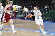DESCRIZIONE : Riga Latvia Lettonia Eurobasket Women 2009 Semifinal 5th-8th Place Italia Lettonia Italy Latvia<br /> GIOCATORE : Laura Macchi<br /> SQUADRA : Italia Italy<br /> EVENTO : Eurobasket Women 2009 Campionati Europei Donne 2009 <br /> GARA : Italia Lettonia Italy Latvia<br /> DATA : 19/06/2009 <br /> CATEGORIA : palleggio<br /> SPORT : Pallacanestro <br /> AUTORE : Agenzia Ciamillo-Castoria/E.Castoria
