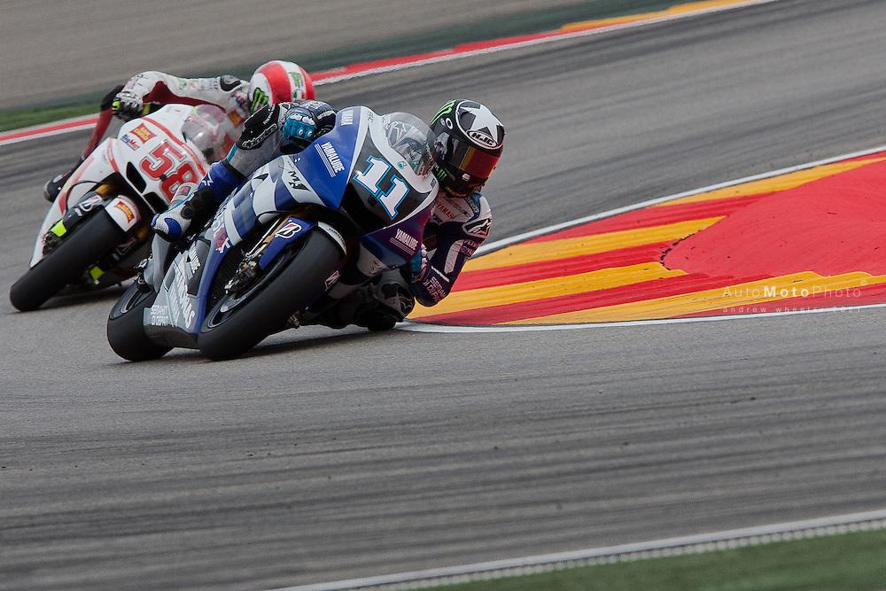 2011 MotoGP World Championship, Round 14, Motorland Aragon, Spain, 18 September 2011, Ben Spies
