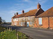 Burnham Overy Staithe, Norfolk, England Attractive old cottages, Burnham Overy Staithe, Norfolk, England