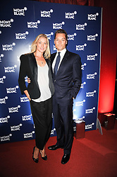 SEB & HEIDI BISHOP at the MontBlanc John Lennon Launch, The Serpentine Gallery, Kensington Gardens, London on 14th September 2010.