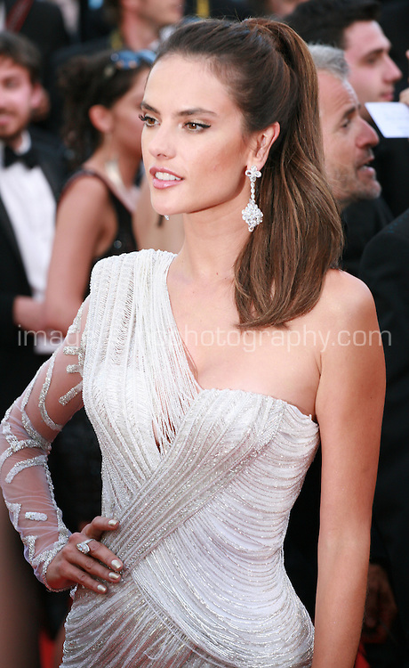 Alessandra Ambrosio at the Two Days, One Night (Deux Jours, Une Nuit) gala screening red carpet at the 67th Cannes Film Festival France. Tuesday 20th May 2014 in Cannes Film Festival, France.