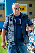 Gillingham FC  manager Steve Evans before the EFL Sky Bet League 1 match between Gillingham and Wycombe Wanderers at the MEMS Priestfield Stadium, Gillingham, England on 14 September 2019.