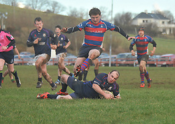 Westport's Eoin Joyce secures posession during the junior Cup semi-final against Tuam on sunday.<br />Pic Conor McKeown
