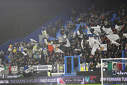 """Foto LaPresse/Filippo Rubin<br /> 26/12/2018 Ferrara (Italia)<br /> Sport Calcio<br /> Spal - Udinese - Campionato di calcio Serie A 2018/2019 - Stadio """"Paolo Mazza""""<br /> Nella foto: I TIFOSI DELL'UDINESE<br /> <br /> Photo LaPresse/Filippo Rubin<br /> December 26, 2018 Ferrara (Italy)<br /> Sport Soccer<br /> Spal vs Udinese - Italian Football Championship League A 2018/2019 - """"Paolo Mazza"""" Stadium <br /> In the pic: UDINESE SUPPORTERS"""