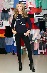 Abbey Clancy at the launch in London of the 'Love, Mum' campaign by Marks & Spencer and Oxfam to raise money for mothers living in poverty,  Tuesday, 4th February 2014. Picture by Stephen Lock / i-Images