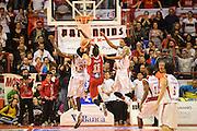 DESCRIZIONE : Pistoia Lega serie A 2013/14  Giorgio Tesi Group Pistoia Pesaro<br /> GIOCATORE : pecile andrea<br /> CATEGORIA : tiro controcampo<br /> SQUADRA : Pesaro Basket<br /> EVENTO : Campionato Lega Serie A 2013-2014<br /> GARA : Giorgio Tesi Group Pistoia Pesaro Basket<br /> DATA : 24/11/2013<br /> SPORT : Pallacanestro<br /> AUTORE : Agenzia Ciamillo-Castoria/M.Greco<br /> Galleria : Lega Seria A 2013-2014<br /> Fotonotizia : Pistoia  Lega serie A 2013/14 Giorgio  Tesi Group Pistoia Pesaro Basket<br /> Predefinita :