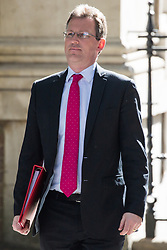 London, UK. 14 May, 2019. Jeremy Wright QC MP, Secretary of State for Digital, Culture, Media and Sport, arrives at 10 Downing Street for a Cabinet meeting.