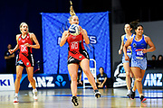 Tactix Charlotte Elley in acton.<br /> Mystics v Tactix, ANZ Premiership, The Trusts Arena, Auckland, New Zealand. Wednesday 8 May 2019. © Copyright Image: Marc Shannon / www.photosport.nz.
