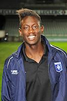 Amara BABY - 31.10.2014 - Auxerre / Brest - 13eme journee Ligue 2<br />Photo : Jean Paul Thomas / Icon Sport
