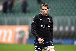 Charlie Ewels of Bath Rugby looks on during the pre-match warm-up - Mandatory byline: Patrick Khachfe/JMP - 07966 386802 - 09/11/2019 - RUGBY UNION - The Recreation Ground - Bath, England - Bath Rugby v Northampton Saints - Gallagher Premiership