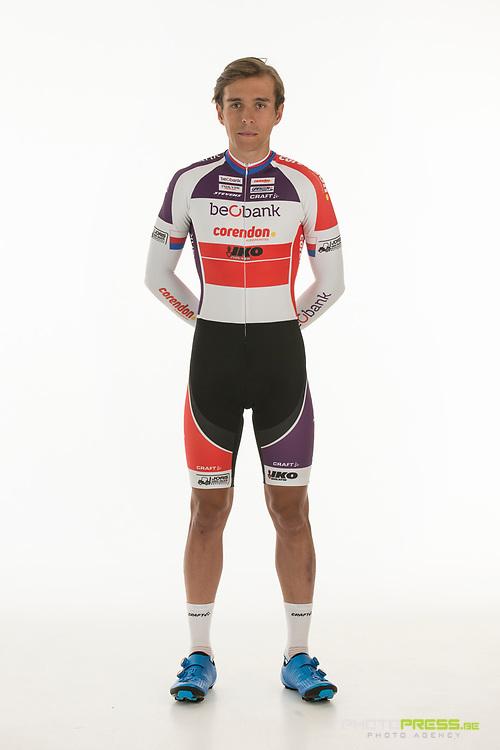 BELGIUM / BELGIQUE / BELGIE / SINT-KATELIJNE-WAVER / CX / CYCLOCROSS / VELDRIJDEN / CYCLO-CROSS / BEOBANK - CORENDON CYCLING TEAM / 2017-2018 / ADAM TOUPALIK (CZE) /