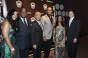 New York, NY-October 19: l to r:  Dominique Sharpton, Rev. Dr. Franklyn W. Richardson, Rev. Al Sharpton, Actor/Producer Tyler Perry, Tamika Mallory, National Executive Director, National Action Network and New York Governor Andrew Cuomo at the 2nd Annual National Action Network's Triumph Awards in the Arts, Entertainment & Sports held at Jazz at Lincoln Center on October 19, 2011 in New York City.  Photo Credit: Terrence Jennings