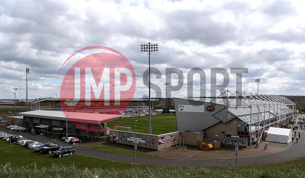 Sixfields Stadium, home of Northampton Town - Mandatory by-line: Robbie Stephenson/JMP - 09/04/2016 - FOOTBALL - Sixfields Stadium - Northampton, England - Northampton Town v Bristol Rovers - Sky Bet League Two