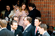 8-7-2017 HANNOVER - Princess Caroline and Ernst August of Hanover Sr daughter Princess Alexandra wedding of  wedding ceremony of heir of the throne of German House of Hanover, Prince Ernst August Jr. of Hanover, Duke of Braunscshweig and Lueneburg, and Russian designer Ekaterina Masysheva at the Marktkirche church in Hanover, Germany, 08 July 2017. The son of Prince Ernst August of Hanover Sen., who is married to Princess Caroline of Monaco, is related to several royal houses in Europe. The House of Hanover is a German royal dynasty that also ruled the United Kingdom between COPYRIGHT ROBIN UTRECHT