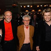 Kerstborrel Princess 2004, Frank gutteling, Jacques d'Ancona en Hans Klok