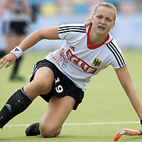 MONCHENGLADBACH - Junior World Cup<br /> Pool D: Germany - Spain<br /> photo: Marilena Krauss.<br /> COPYRIGHT  FFU PRESS AGENCY/ FRANK UIJLENBROEK