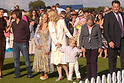 James Blunt, Camilla Boles, Cate Blanchett and her baby son Roman Upton. Cartier International Day at Guards Polo Club, Windsor Great Park. July 24, 2005. ONE TIME USE ONLY - DO NOT ARCHIVE  © Copyright Photograph by Dafydd Jones 66 Stockwell Park Rd. London SW9 0DA Tel 020 7733 0108 www.dafjones.com