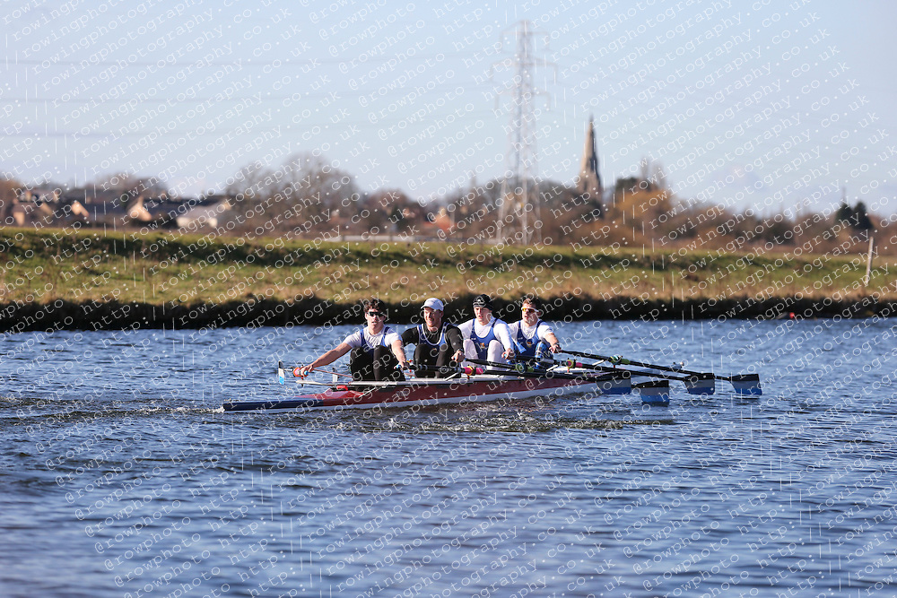 Imperial College Boat Club. Championship Quad, BUCS Head 2012.