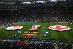 July 11, 2018 - Moscow, Russia - July 11, 2018, Moscow, FIFA World Cup 2018 Football, the playoff round. 1/2 finals of the World Cup. Football match Croatia - England at the stadium Luzhniki. Player of the national team (Credit Image: © Russian Look via ZUMA Wire)
