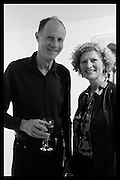 MARY ANN SIEGHART AND HER HUSBANDBehind the Silence. private view  an exhibition of work by Paul Benney and Simon Edmondson. Serena Morton's Gallery, Ladbroke Grove, W10.  4 November 2015.