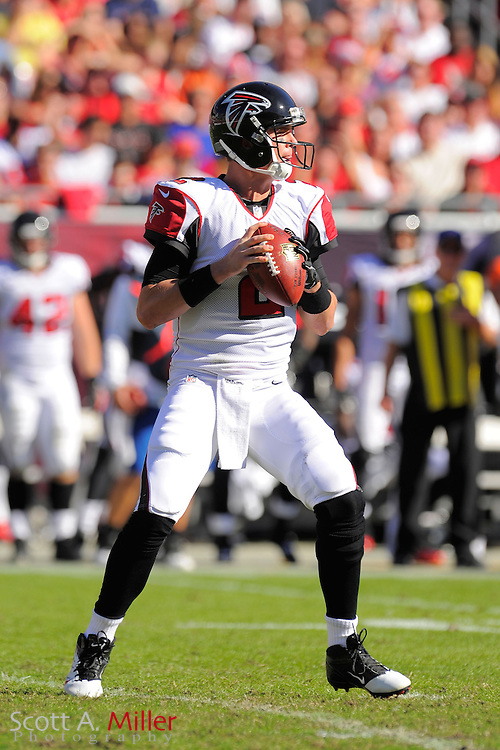 Atlanta Falcons quarterback Matt Ryan (2) during an NFL game against the Tampa Bay Buccaneers at Raymond James on November 25, 2012 in Tampa, Florida. ...©2012 Scott A. Miller.
