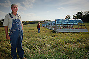 John and his wife, Connie, live on the farm near Monticello in Piatt County, Illinois, where they graze sheep and poultry.