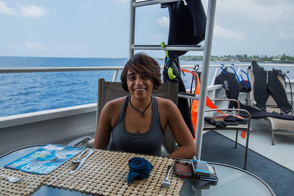The Kona, Hawaii Aggressor Fleet liveaboard boat, Photo © William Drumm, 2013.