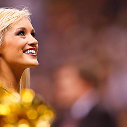 November 21, 2010; New Orleans, LA, USA; New Orleans Saints Saintsations cheerleaders perform during the second half at the Louisiana Superdome. The Saints defeated the Seahawks 34-19. Mandatory Credit: Derick E. Hingle-US PRESSWIRE