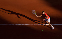 20.04.2012, Country Club, Monte Carlo, MON, ATP World Tour, Rolex Masters, Viertelfinale, im Bild Jo-Wilfried Tsonga (FRA) in action during the quarter final singles match between Gilles Simon (FRA) and Jo-Wilfried Tsonga (FRA) // during Rolex Masters tennis tournament quarter Final of ATP World Tour at Country Club, Monte Carlo, Monaco on 2012/04/20. EXPA Pictures © 2012, PhotoCredit: EXPA/ Mitchell Gunn