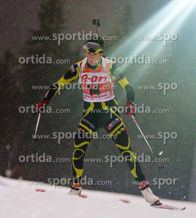 13.01.2011, Chiemgau Arena, GER, IBU Biathlon Worldcup, Ruhpolding, Individual Women, im Bild Marie Laure Brunet (FRA) // Marie Laure Brunet (FRA) during IBU Biathlon World Cup in Ruhpolding, Germany, EXPA Pictures © 2011, PhotoCredit: EXPA/ J. Feichter