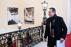 06.03.2019, Bundeskanzleramt, Wien, AUT, Bundesregierung, Sicherheitsgipfel, im Bild Vizekanzler Heinz-Christian Strache (FPÖ) // Austrian Vice Chancellor Heinz-Christian Strache during an summit regarding to inner security issues at federal chancellors office in Vienna, Austria on 2019/03/06 EXPA Pictures © 2019, PhotoCredit: EXPA/ Michael Gruber