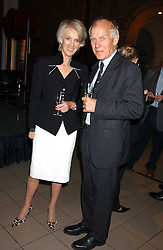 Writer JOANNA TROLLOPE and GENERAL SIR PETER DE LA BILLIERE at the opening of the exhibition 'Lawrence of Arabia: The Life, The Legend' at the Imperial War Museum, Lambeth Road, London SE1 on 11th October 2005.<br /><br />NON EXCLUSIVE - WORLD RIGHTS
