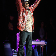 "COLUMBIA, MD - May 14, 2015 - Jimmy Cliff performs his classic song ""The Harder The Come"" during the Dear Jerry: Celebrating the Music of Jerry Garcia concert at Merriweather Post Pavilion in Columbia, MD. (Photo by Kyle Gustafson / For The Washington Post)"