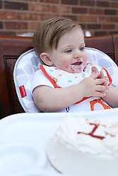 Louisville, Ky., -- Winston Brave Geerts celebrated his first birthday, Sunday, March 18, 2018 at the Geerts Grotto in Louisville.