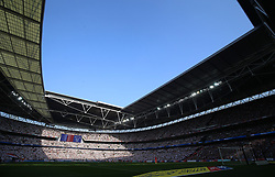 A general view of the stadium during the Sky Bet Championship Final at Wembley Stadium, London