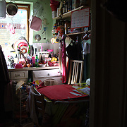 Linda lives in a temporary small flat with her daughter and mother.  Linda is not allowed to work,receive any support until her permit to stay in the UK is granted. The pending eviction notice leaves her in very vulnerable condition.