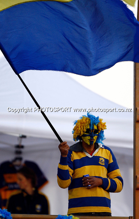 A Bay of Plenty fan, Air NZ Cup, NPC rugby union. Bay of Plenty v Canterbury. Bay Park Stadium, Mt Maunganui. 5 September 2009. Photo: William Booth/PHOTOSPORT