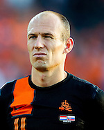 Arjen Robben before the game The Netherlands versus    Slovakia during friendly soccer match between Netherlands vs Slovakia in Rotterdam on May 30, 2012. AFP PHOTO/ ROBIN UTRECHT